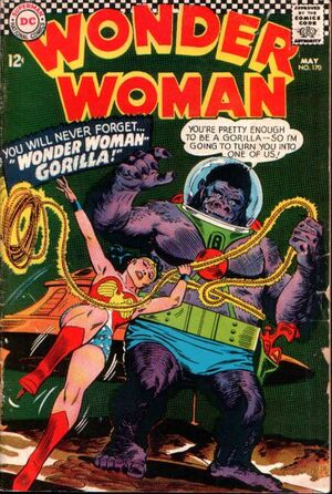 Cover for Wonder Woman #170 (1967)