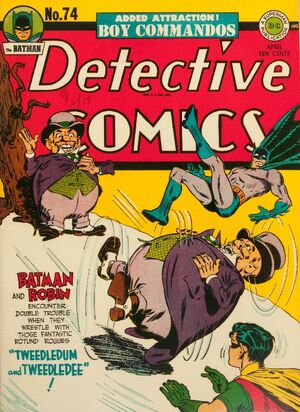 Cover for Detective Comics #74 (1943)