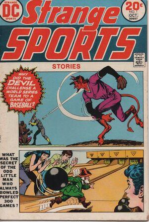 Cover for Strange Sports Stories #1 (1973)