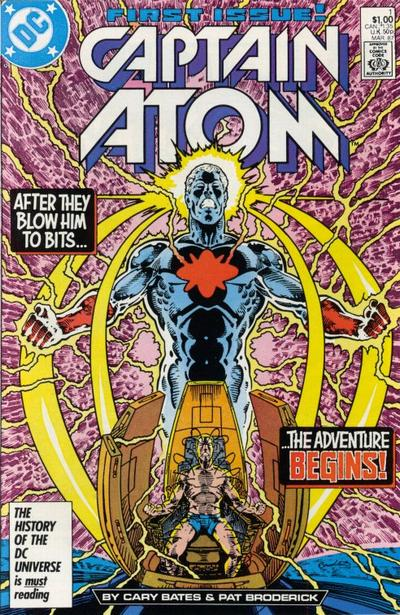 Znalezione obrazy dla zapytania captain atom #1 vol. 3 1987