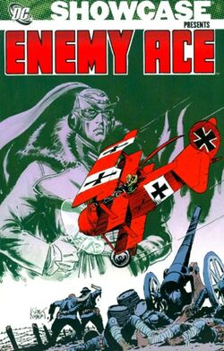 Cover for the Showcase Presents: Enemy Ace Vol. 1 Trade Paperback