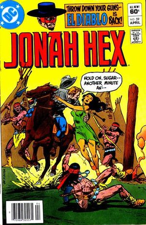 Cover for Jonah Hex #59 (1982)