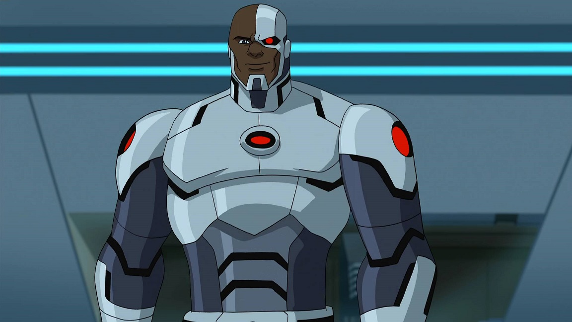 Victor Stone (Batman Unlimited) | DC Database | Fandom powered by ... Justice League Unlimited Cyborg