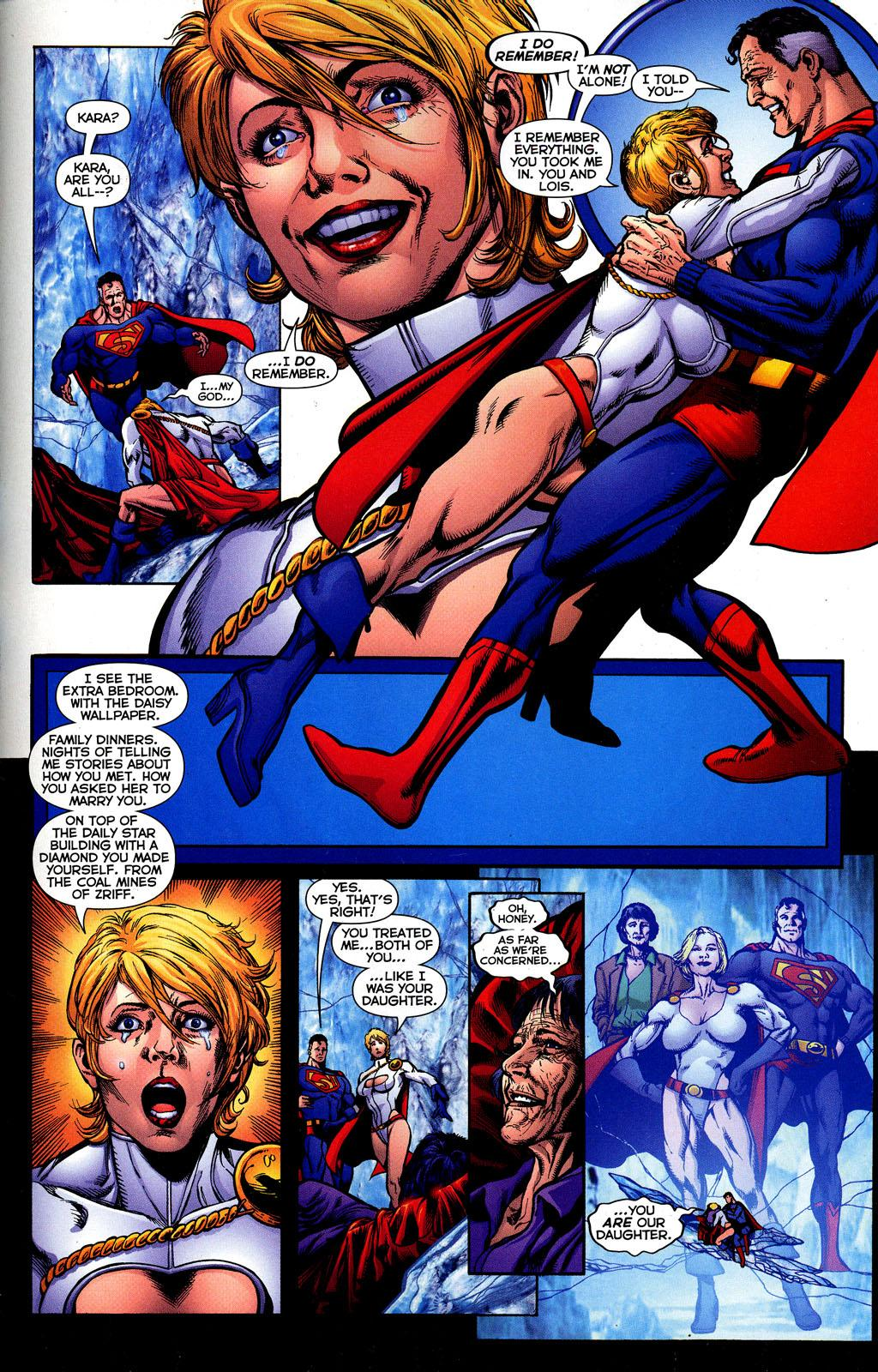 Image result for Power Girl visited Earth-2