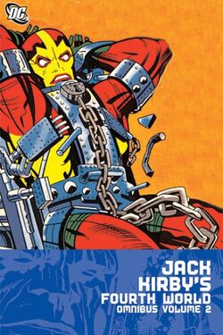 Cover for the Jack Kirby's Fourth World Omnibus Vol. 2 Trade Paperback