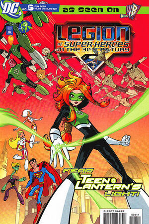 Cover for Legion of Super-Heroes in the 31st Century #6 (2007)