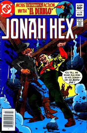 Cover for Jonah Hex #58 (1982)