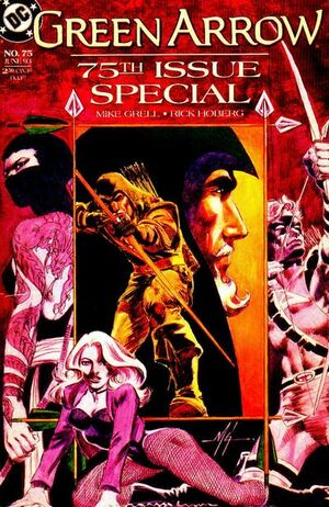 Cover for Green Arrow #75 (1993)