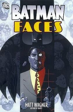 Cover for the Batman: Faces Trade Paperback