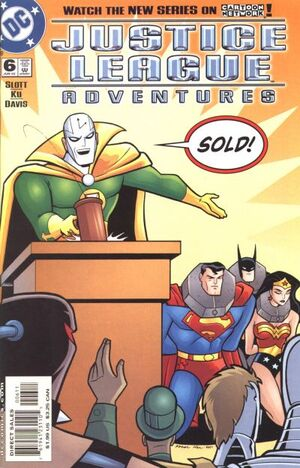 Cover for Justice League Adventures #6 (2002)
