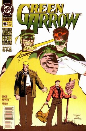 Cover for Green Arrow #96 (1995)