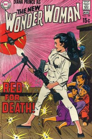 Cover for Wonder Woman #189 (1970)
