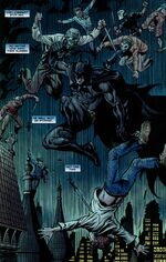 "Batman fights ""The Body"""