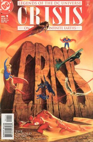 Cover for Legends of the DC Universe: Crisis on Infinite Earths #1 (1999)