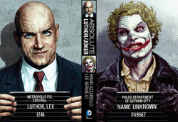 Cover for the Absolute Joker/Luthor Trade Paperback