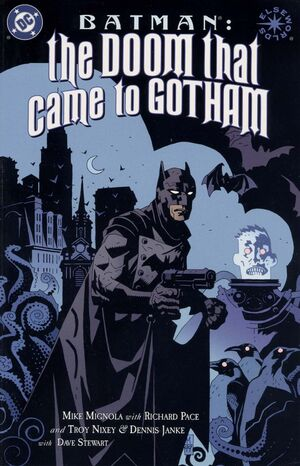 Cover for Batman: The Doom That Came to Gotham #1 (2000)