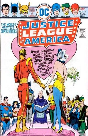 Cover for Justice League of America #121 (1975)