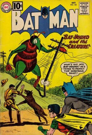 Cover for Batman #143 (1961)