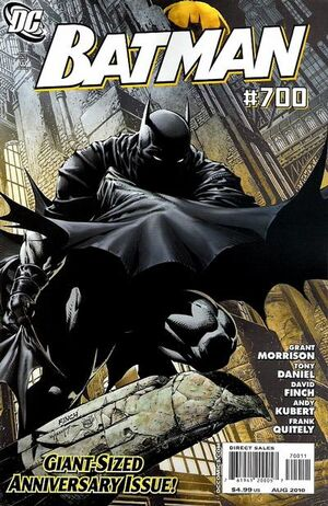 Cover for Batman #700 (2010)