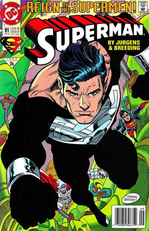 Cover for Superman #81 (1993)