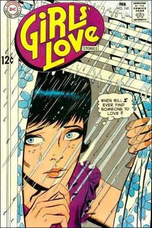 Cover for Girls' Love Stories #141 (1969)