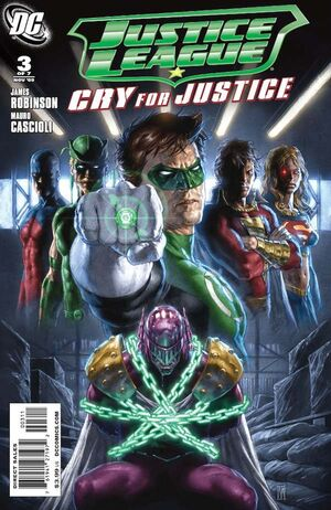 Cover for Justice League: Cry for Justice #3 (2009)