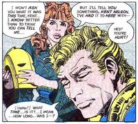 Inza constantly criticized Kent Nelson when he was Doctor Fate
