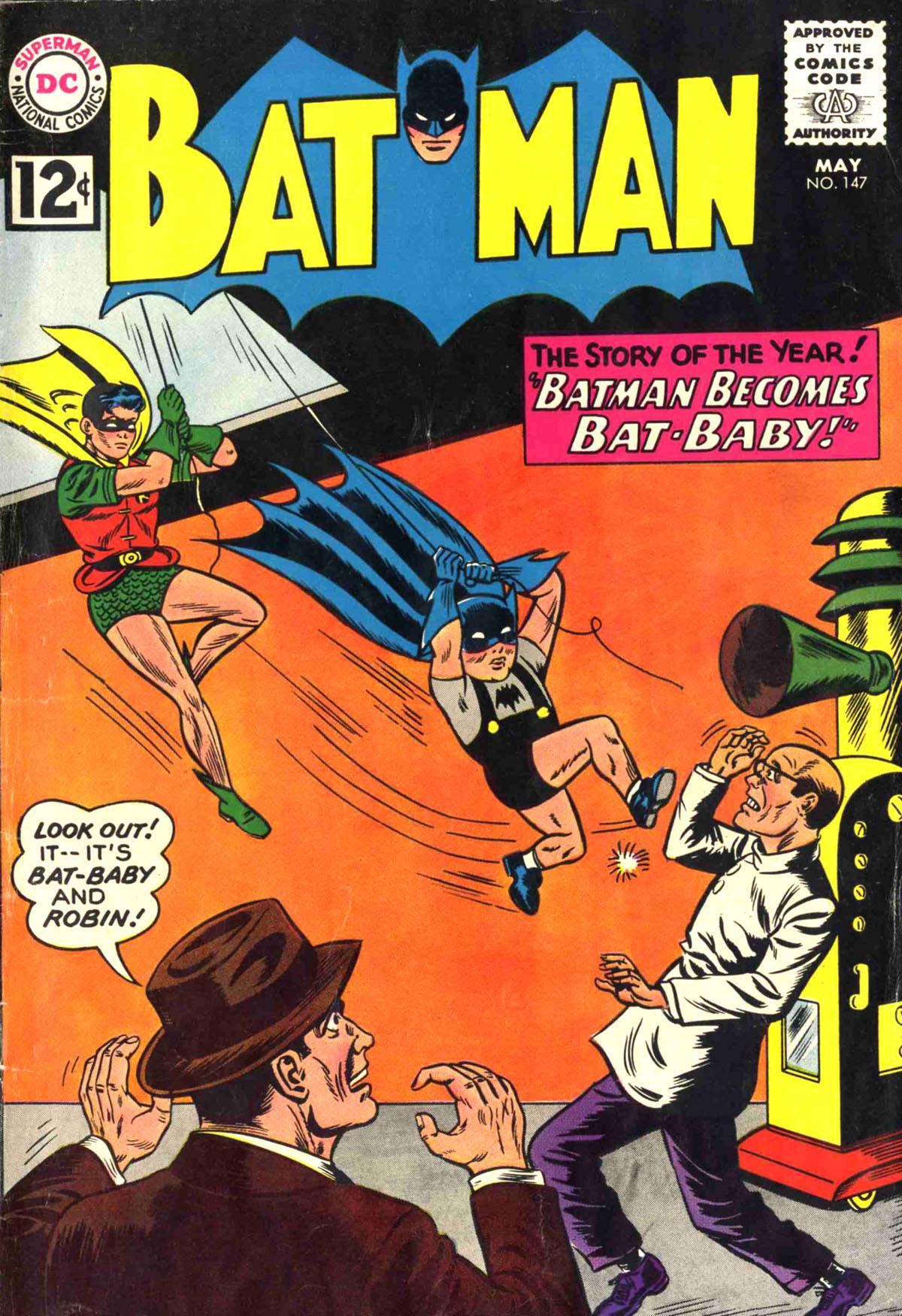 Batman Vol 1 147 Dc Database Fandom Powered By Wikia