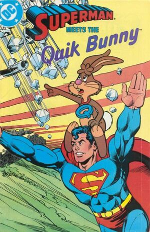 Cover for Superman Meets the Quik Bunny (1987)