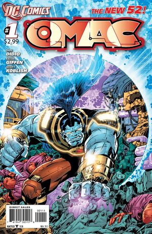 Cover for OMAC #1 (2011)
