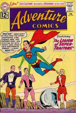 Cover for Adventure Comics #293 (1962)