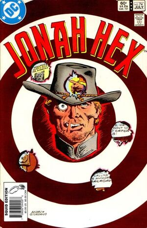 Cover for Jonah Hex #74 (1983)