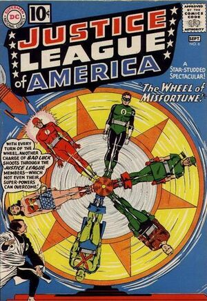 Cover for Justice League of America #6 (1961)