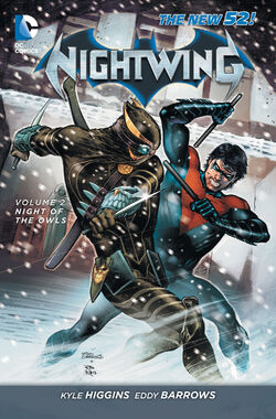 Cover for the Nightwing: Night of the Owls Trade Paperback