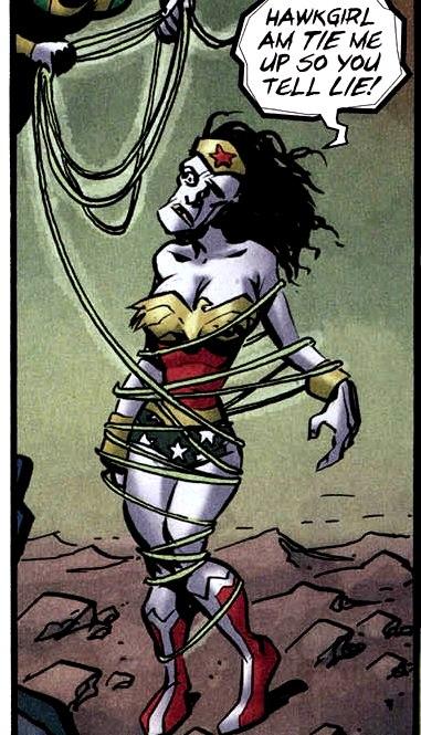 Bizarro Wonder Woman 002