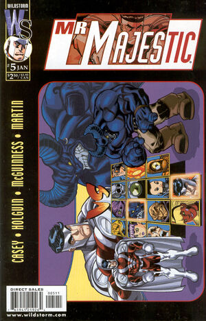 Cover for Mr. Majestic #5 (2000)