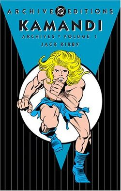 Cover for the Kamandi Archives Vol. 1 Trade Paperback