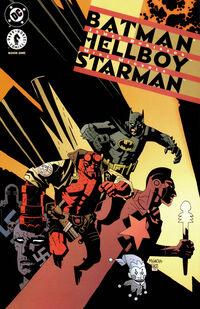 Batman and Hellboy and Starman 1