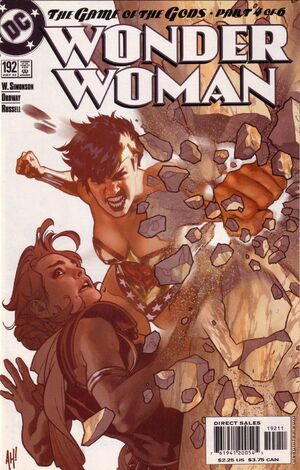 Cover for Wonder Woman #192 (2003)