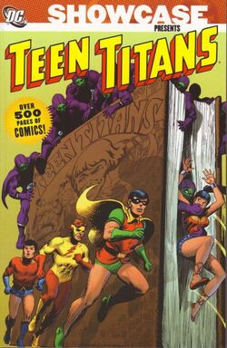 Cover for the Showcase Presents: Teen Titans Vol. 1 Trade Paperback