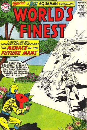 Cover for World's Finest #135 (1963)