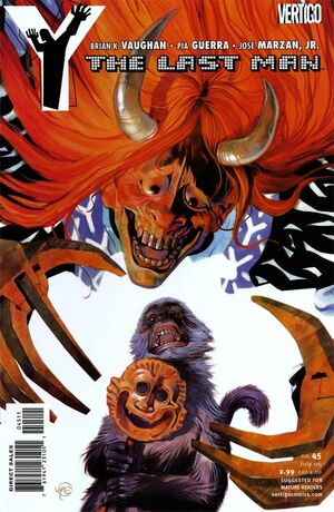 Cover for Y: The Last Man #45 (2006)