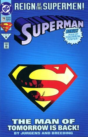 Cover for Superman #78 (1993)