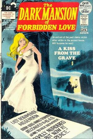 Cover for Dark Mansion of Forbidden Love #4 (1972)