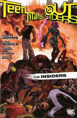 Cover for the Teen Titans/Outsiders: The Insiders Trade Paperback