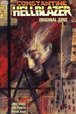 Cover for the Hellblazer: Original Sins Trade Paperback