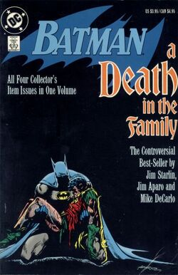 Cover for the Batman: A Death in the Family Trade Paperback