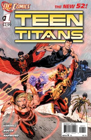 Cover for Teen Titans #1 (2011)