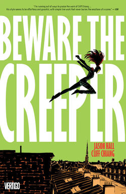 Cover for the Beware the Creeper Trade Paperback