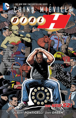 Cover for the Dial H: Exchange Trade Paperback